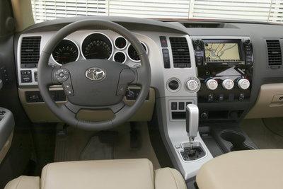 2009 Toyota Tundra CrewMax Instrumentation
