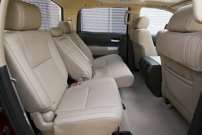2009 Toyota Tundra CrewMax Interior