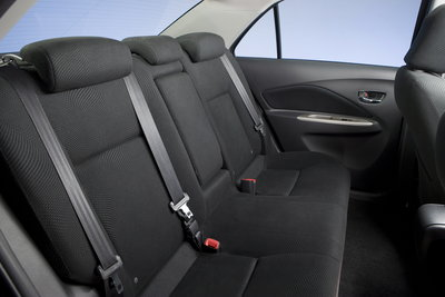 2009 Toyota Yaris sedan Interior