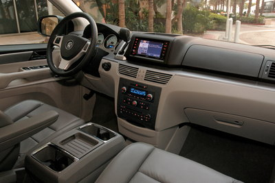2009 Volkswagen Routan Instrumentation