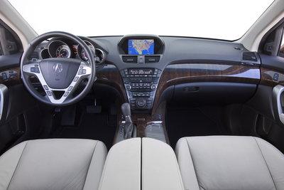 2010 Acura MDX Instrumentation