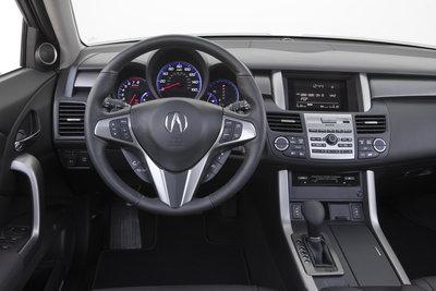 2010 Acura RDX Instrumentation