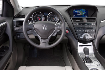 2010 Acura ZDX Instrumentation