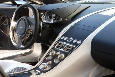 2010 Aston Martin One-77 Instrumentation