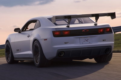 2010 Chevrolet Camaro SSX Track Car Concept
