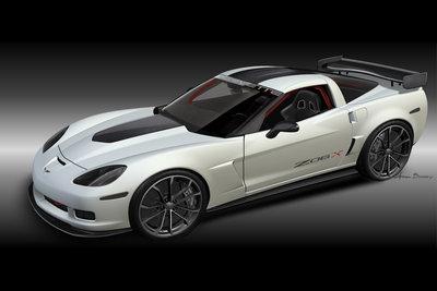 2010 Chevrolet Corvette Z06X Track Car Concept