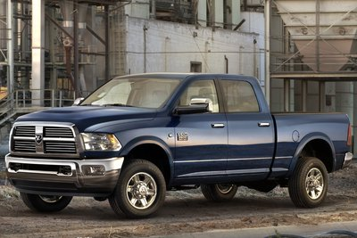 2010 Dodge Ram 2500 Heavy Duty Crew Cab