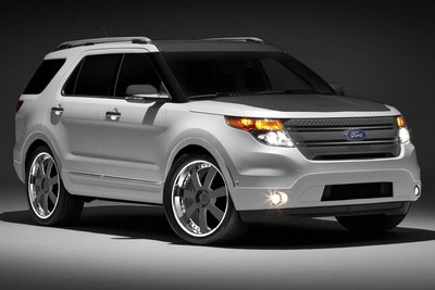 2010 Ford Explorer by CGS Performance Parts