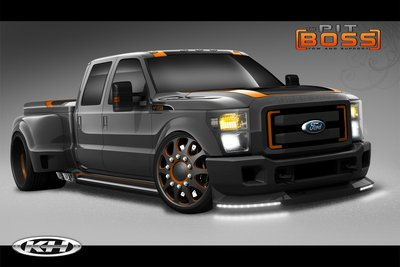 2010 Ford F-350 Super Duty by Cars by Kris and Airhead Kustoms