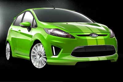 2010 Ford Fiesta by 3dCarbon