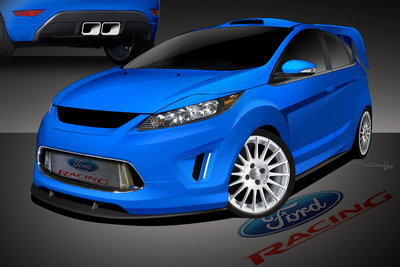 2010 Ford Fiesta by Ford Racing