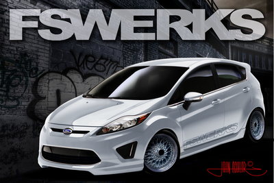 2010 Ford Fiesta by FSWerks