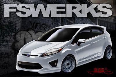 2010 Ford Fiesta by FSWerks