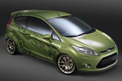 2010 Ford Fiesta by H&R Springs