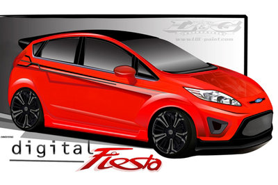 2010 Ford Fiesta by L&G Enterprises
