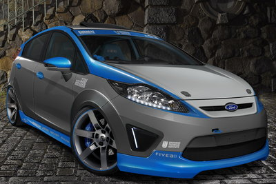 2010 Ford Fiesta by Universal Technical Institute