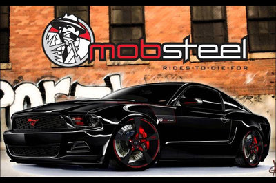 2010 Ford Mustang by Mobsteel