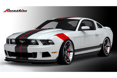 2010 Ford Mustang by Raceskinz
