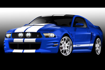 2010 Ford Mustang by Team Baurtwell