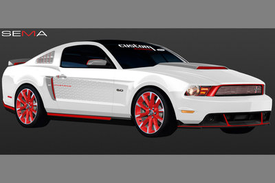 2010 Ford Mustang GT by Ford Vehicle Personalization