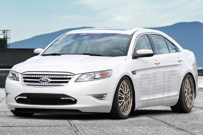 2010 Ford Taurus SHO by H&R Springs