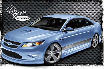 2010 Ford Taurus SHO by Rick Bottom Designs