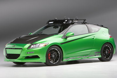 2010 Honda CR-Z by Konig Wheels