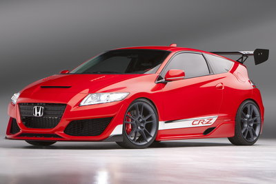 2010 Honda CR-Z Hybrid R Concept  by Honda Performance Development
