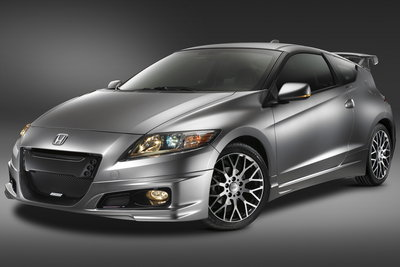 2010 Honda CR-Z with MUGEN accessories