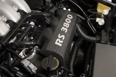 2010 Hyundai Genesis Coupe Engine