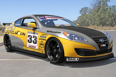 2010 Hyundai Genesis Coupe by Gogogear Racing