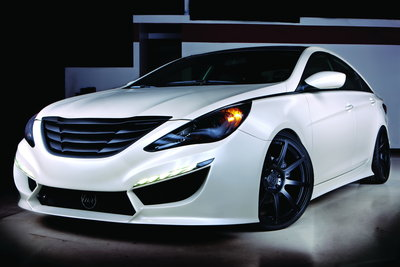 2010 Hyundai Sonata Turbo by RIDES Magazine
