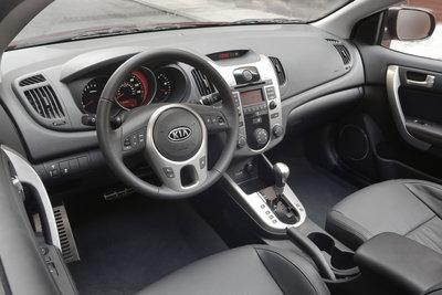 2010 Kia Forte Koup Instrumentation