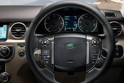 2010 Land Rover LR4 Instrumentation