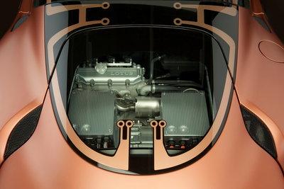 2010 Lotus Evora 414E Hybrid Engine