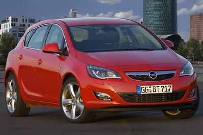 2010 Opel Astra 5d
