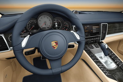 2010 Porsche Panamera Instrumentation