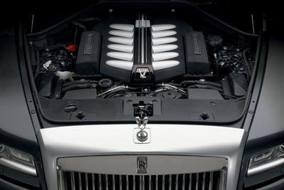 2010 Rolls-Royce Ghost Engine