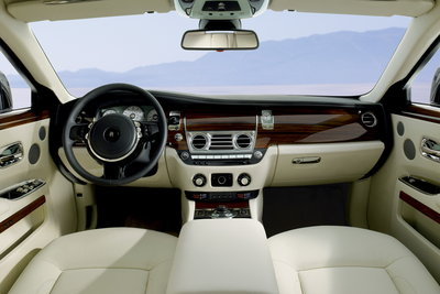 2010 Rolls-Royce Ghost Instrumentation