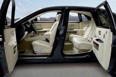 2010 Rolls-Royce Ghost Interior