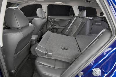 2011 Acura TSX wagon Interior