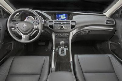 2011 Acura TSX wagon Instrumentation