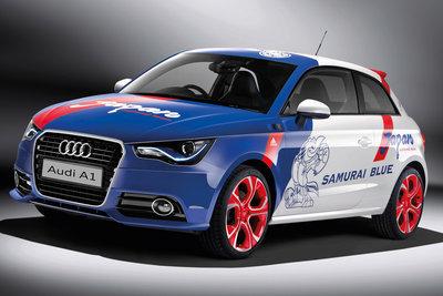 2011 Audi A1 Samurai Blue