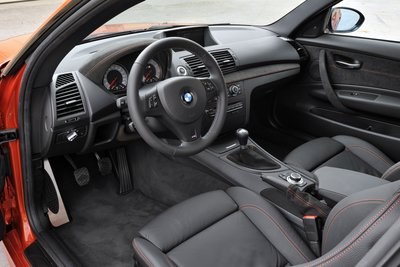 2011 BMW 1-Series M Coupe Interior