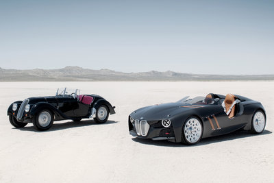 1936 BMW 328 and 2011 BMW 328 Hommage