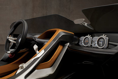 2011 BMW 328 Hommage Instrumentation
