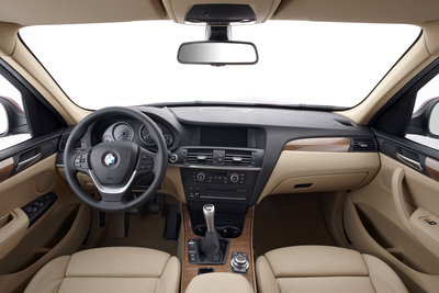 2011 BMW X3 Interior
