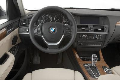 2011 BMW X3 Instrumentation