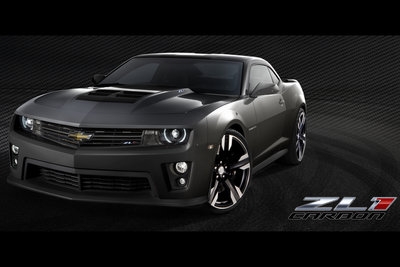 2011 Chevrolet Camaro ZL1 Carbon Concept