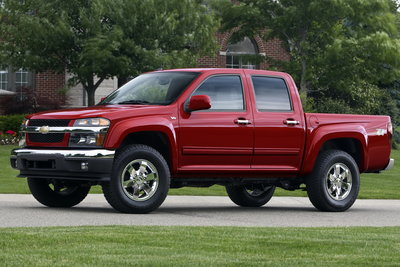 2011 Chevrolet Colorado Z71 Crew Cab